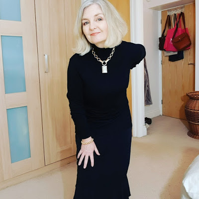Over 50s blogger Anne Marie from Mutton Style, the readers' favourite in #WowOnWednesday