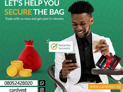 What you need to know about CardVest App- Sell Giftcards in Nigeria