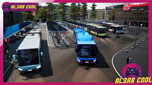 تحميل لعبة محاكي الباصات للكمبيوتر مجانا  تحميل لعبة محاكي الباصات Fernbus Simulator للكمبيوتر  تحميل لعبة محاكي الباصات للكمبيوتر تورنت