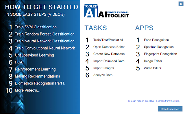 AI-TOOLKIT How to get started screen