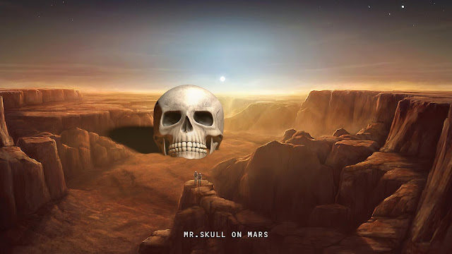 MISTER SKULL - MARS SERIES - DESIGN WITH PRASHANT