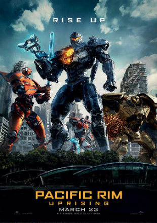 Pacific Rim: Uprising 2018 HDRip 720p Hindi Movie Download