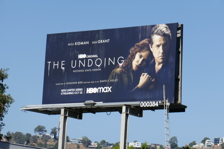 Undoing HBO series billboard