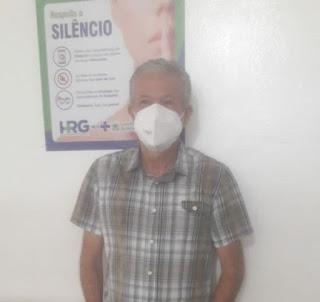 Em Guarabira:  Edrise Xavier é bem avaliado no comando da equipe de  apoio do Hospital Regional.