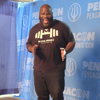Mark Henry weight loss story. The WWE champion had lost 100 pounds and wanted to make a come back.