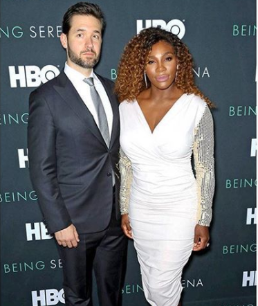 "Alexis Ohanian gushes about Serena Williams, ""I'm so proud of this woman"""