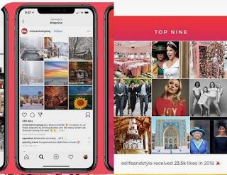 Cara Mudah Membuat Best Nine Instagram 2019 Keren Aplikasi Best Nine Instagram 2019