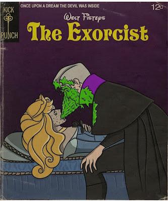 Meme de humor sobre El exorcista