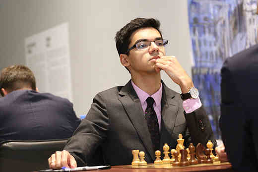 Mémorial Tal: Anish Giri - Photo © site officiel
