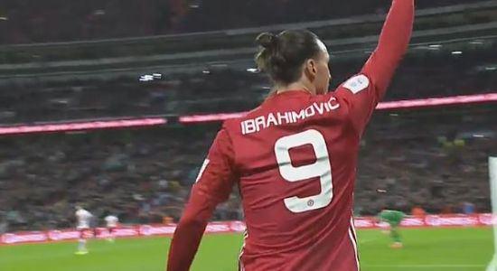 HIGHLIGHTS Finale Coppa di Lega, Manchester United Southampton 3-2: Lingard, Ibrahimovic (2), Gabbiadini (2)