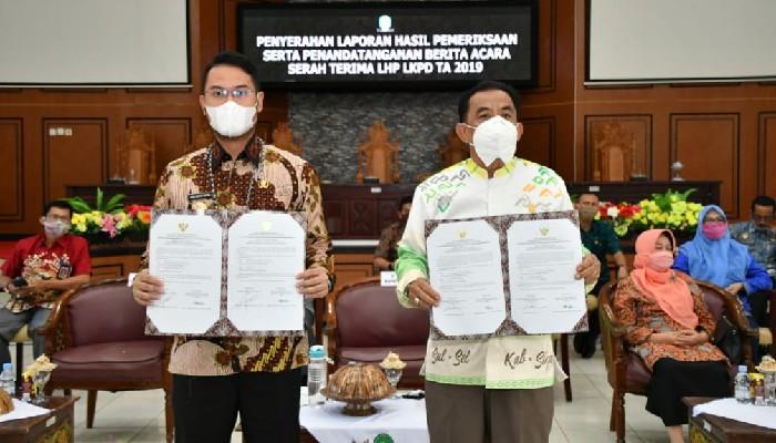 Dewan Apresiasi Pemkab Sinjai Raih WTP dari BPK