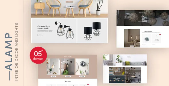 Best Interior Decor and Lights Responsive Shopify Theme