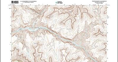 Topographic Map Arizona.Arizona Geology Arizona Topo Maps Now Online At National Map