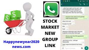 Join Best 30+ Stock Market WhatsApp Group Links latest update