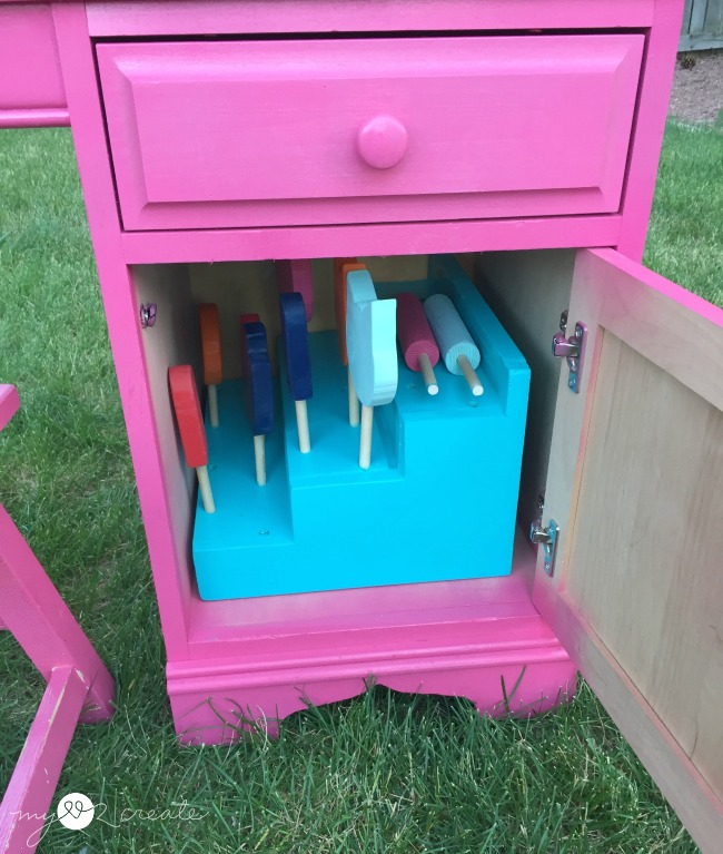 frozen treat stand storage