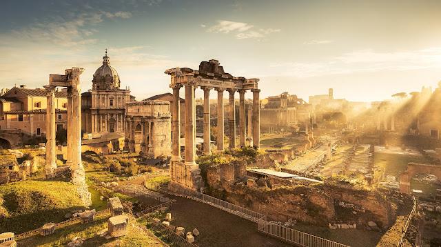 Non lontano da Roma le opere degli illiri trovate al Foro Romano (Rivista del 1927)