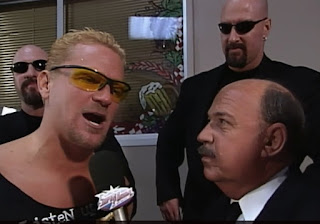 WCW Superbrawl 2000 - Mean Gene Okerlund interviews Jeff Jarrett (w/ The Harris Boys