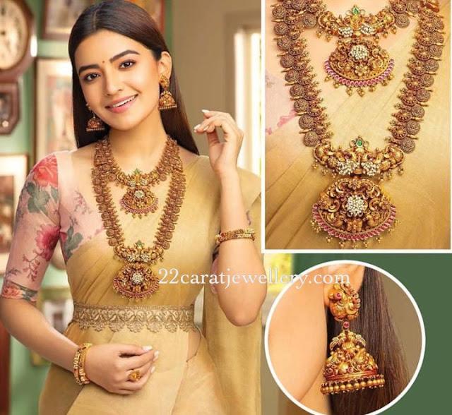Rushkar Dhillon Temple Jewellery