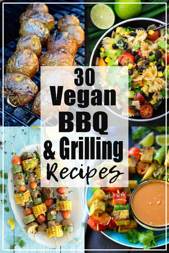 This month's roundup is all about vegan BBQ and grilling recipes. As always, I teamed up with some great fellow food bloggers to provide you with a stunning list of vegan options for your next BBQ.
