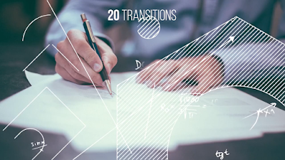 قوالب ادوبي بريمير قالب انتقالات مرسومة مميزة رائعة لبرنامج الادوبي بريمير للمونتاج draft transitions
