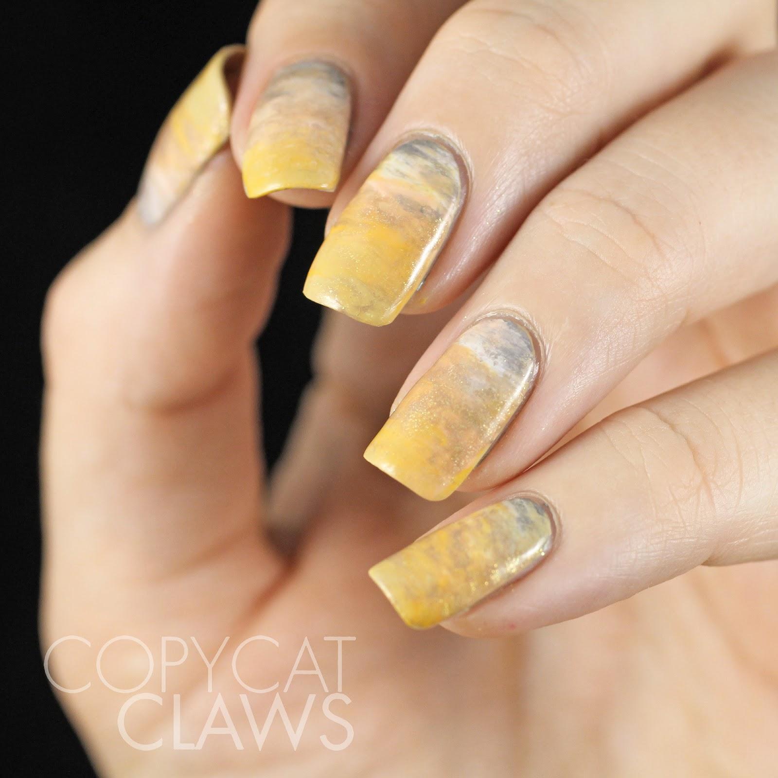 Copycat Claws: Sunday Stamping - Wildlife Nail Art