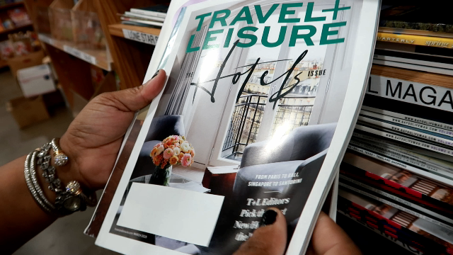 Image;travel and Leisure magazine. Purchased by Tangie Bell for Bits and Babbles Blog. Real Life Chat: Reading Magazines That Inspired Me To Break Poverty, Learn To DIY, And Level Up!