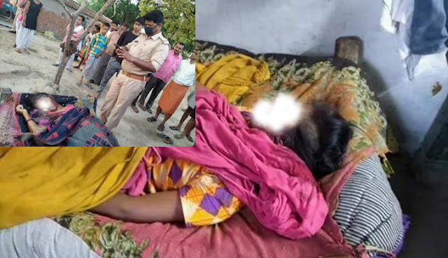 नाबालिग बेटी और माँ के साथ सामूहिक बलात्कार के बाद पिता सहित तीनो की हत्या