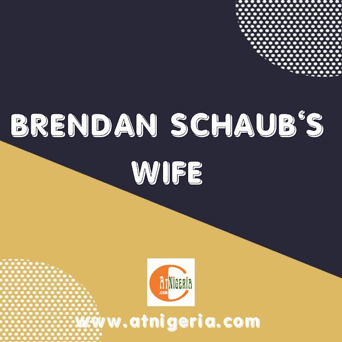 Brendan Schaub's Wife: Joanna Zanella