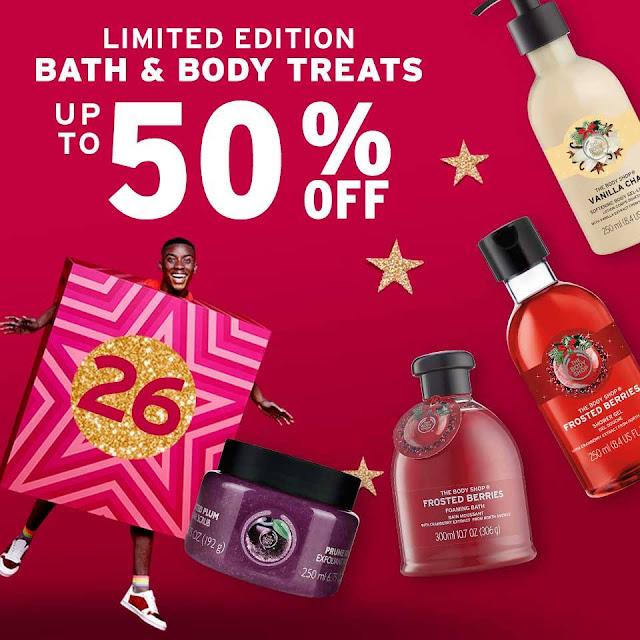 The Body Shop Malaysia buat sale besar-besaran