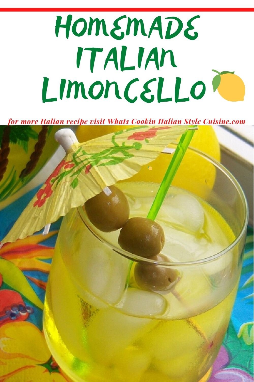 pin it for later recipe for limoncello