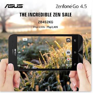 ZenFone Go 4.5 Sale