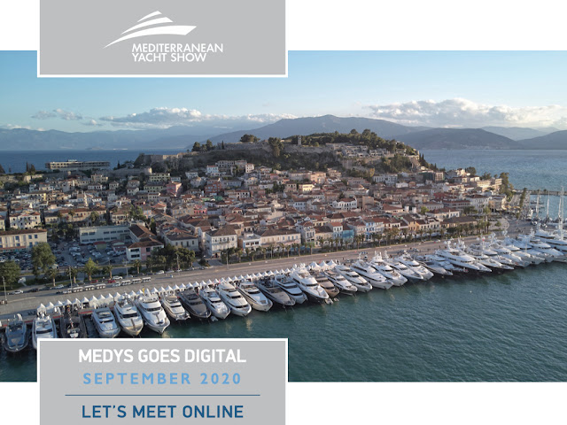 """Στον """"αέρα"""" η ψηφιακή έκδοση του Mediterranean Yacht Show"""