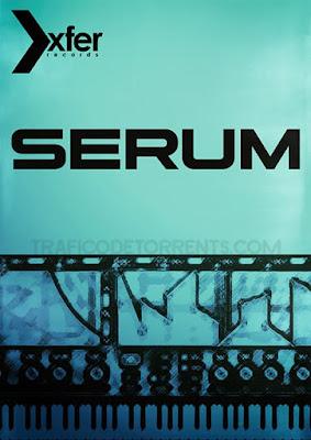 Cover do plugin Serum