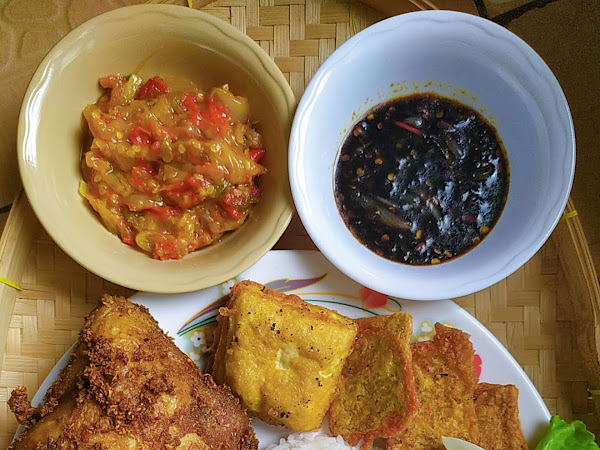 Resepi Ayam Penyet Mudah versi Dapurciksue