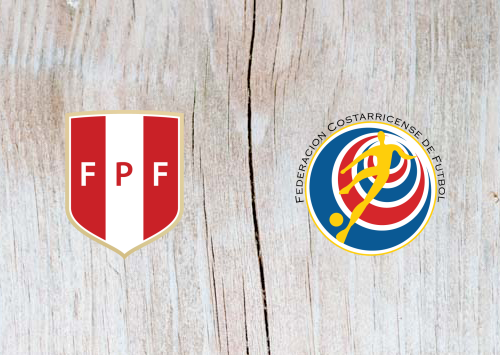 Peru vs Costa Rica - Highlights 6 June 2019
