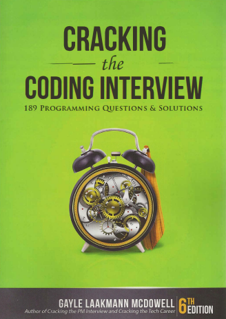 Cracking The Coding Interview PDF 6th Edition