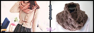 cachecol feminino gola feminina mulher inverno lindo quente fofo elegante trico tricot croche lã barbante golona cheio rosa rose marrom