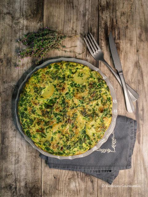 cresson, recette, omelette