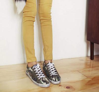 Chiêm ngưỡng các đôi Giày Sneaker trẻ trung