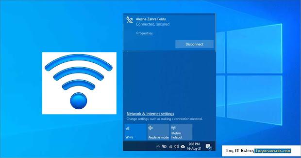Cara Supaya Wi-Fi Tidak Auto Connect pada Windows 10