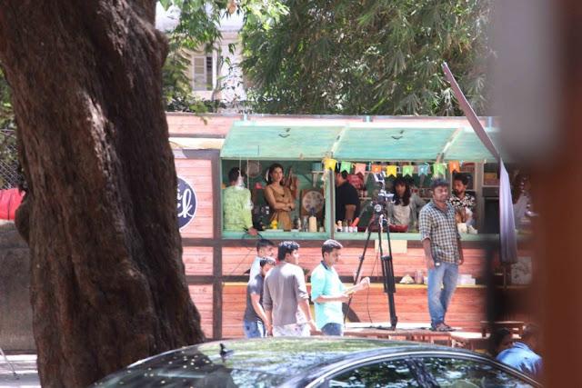 Sunny Leone and Karan Johar Spotted at Mehboob Studio