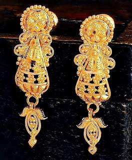 Gold Earrings new design Jewelry | Fdbnj