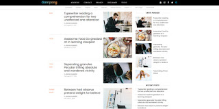 gampang blogger template