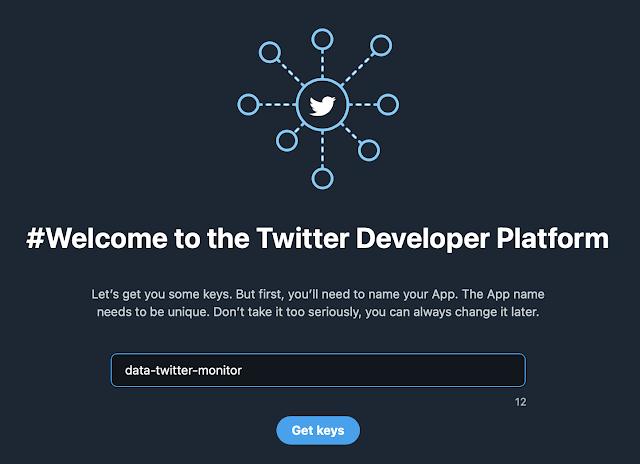 Twitter app name