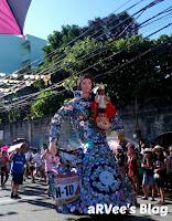 Higante entry - Sinulog Festival
