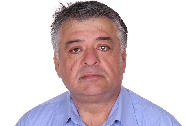 Ο Παναγιώτης Τσατσαρός υποψήφιος με τον συνδυασμό «Προοδευτική Συμμαχία Ερμιονίδας»