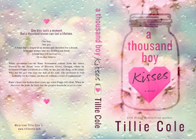 ★COVER REVEAL★ A Thousand Boy Kisses by Tillie Cole - Relentless Romance