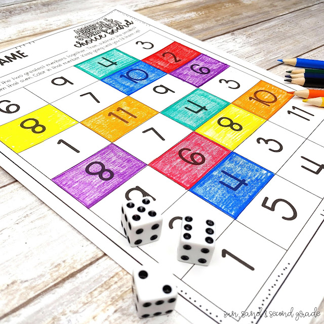 Mastering math facts game
