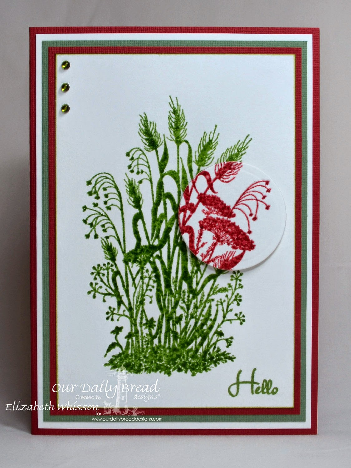 Our Daily Bread Designs, Miss You, ODBD Recipe Card and Tags Dies, Designed by Elizabeth Whisson