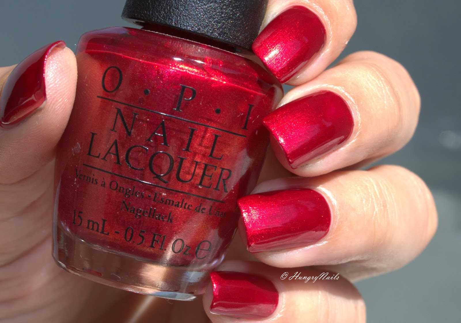 OPI | An Affair in Red Square - HungryNails Blog | Die bunte Welt ...